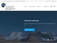 C & E Vassiliou Insurance Website Screenshot