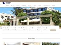Veronica Hotel Paphos Website Screenshot