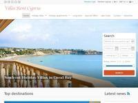 Villas Rent Cyprus Website Screenshot