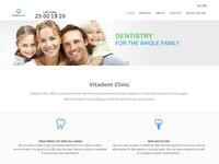 Vitadent Website Screenshot