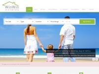Win Win Travel Website Screenshot