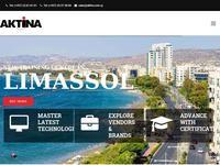 Aktina Ke Website Screenshot
