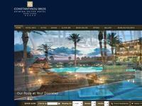 Asimina Suites Website Screenshot