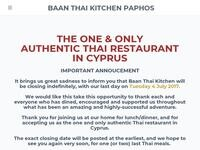 Baan Thai Kitchen