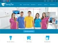 DentiStar Dental Clinic Website Screenshot