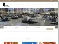 Flamingo Hotel Larnaca Website Screenshot