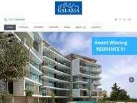 Galaxia Estate Agencies Website Screenshot