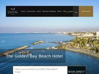 Golden Bay Larnaca Website Screenshot