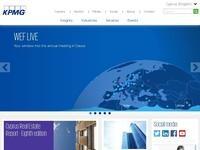 KPMG Website Screenshot