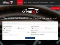 Kyprexxo Motor Agency Website Screenshot