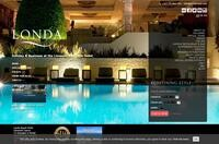 Londa Hotel Website Screenshot