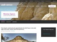 Hilton Park Nicosia Website Screenshot