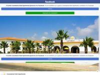 Cosmelenia Apartments Website Screenshot