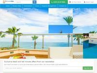 My Exclusive Villas Website Screenshot