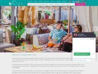 Napa Plaza Website Screenshot