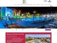 Nicholas Color Hotel Website Screenshot