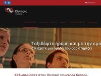 Olympic Insurance Website Screenshot
