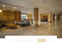 Pefkos Hotel Website Screenshot