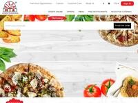 Pizza Mia Website Screenshot