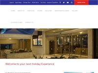 Senator Hotel Apartments Website Screenshot