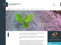 Costas Tsielepis & Co Website Screenshot
