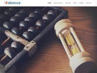 Abacus Website Screenshot