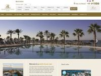 Adams Beach Hotel Website Screenshot