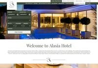 Alasia Hotel Website Screenshot