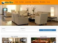 AlkioNest Hotel Apartments Website Screenshot