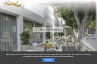 Almond Business Hotel Website Screenshot
