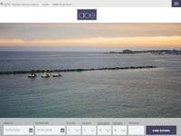 Aloe Hotel - Paphos Website Screenshot