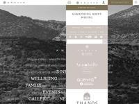 Anassa Hotel Website Screenshot
