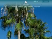Atlantica Oasis Website Screenshot