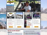 Atlas Rentals Website Screenshot