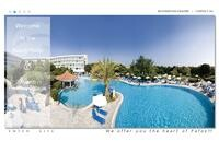 Avanti Hotel Website Screenshot