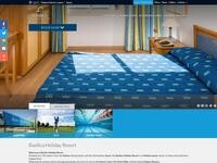 Basilica Holiday Resort Website Screenshot