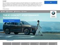 BMW Cyprus Website Screenshot