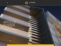 Chaps Developers Website Screenshot