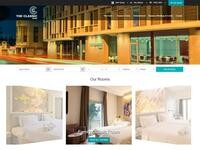 The Classic Hotel Website Screenshot