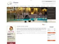 Cleopatra Hotel Nicosia Website Screenshot