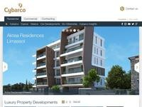 Cybarco Property Developments Website Screenshot