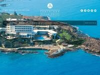 Cynthiana Beach Hotel Website Screenshot