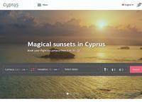Cyprus Airways Website Screenshot