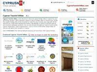 Cyprus Tourist Villas Website Screenshot