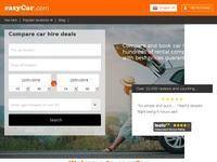 Easy Car Rental Website Screenshot