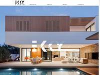 EKKY Studio Website Screenshot