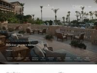 Elysium Hotel Paphos Website Screenshot