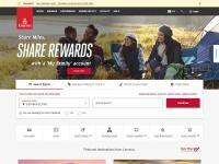 Emirates Website Screenshot