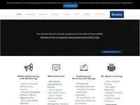Enigma Advertising Website Screenshot