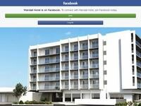 Mandali Hotel Apartments Website Screenshot
